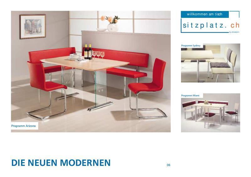 Eckbänke Die Neuen Modernen Von Dreisternmöbel Möbelfabrik Ag