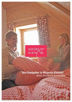 Wagrain-Kleinarl Gastgeberverzeichnis Winter 2013/2014 und Sommer 2014