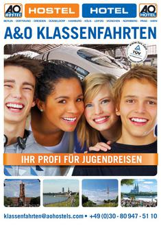 Katalog: A&O Hotels and Hostels Klassenfahrten 2011