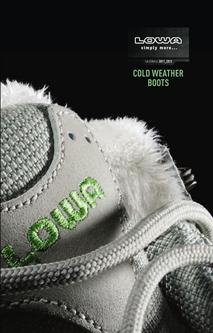 Cold Weather Boots Winter 2011/12