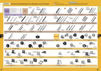 Norm-, Kauf- und Zeichnungskomponenten für die Montageautomatisierung Teil 1