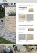 naturstein mauer in sch ne steine rund um s haus 2011 von uhl baustoffe. Black Bedroom Furniture Sets. Home Design Ideas