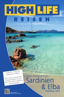 Preisliste Sardinien ab Wien 2014