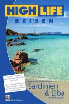 Preisliste Sardinien & Elba ab Altenrhein und Friedrichshafen 2014
