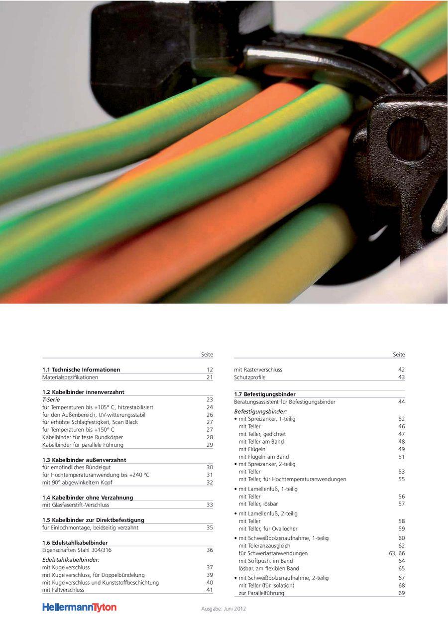Kabelbinder 2013/2014 von HellermannTyton