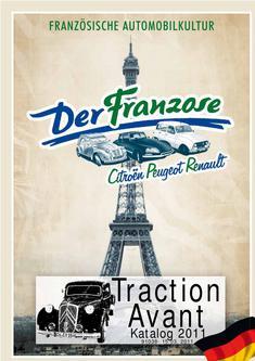 Traction Avant (11CV) Ersatzteile 2011