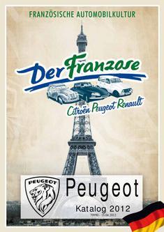 Peugeot Ersatzteile 2012