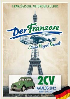 2CV - ENTE - Ersatzteile 2012
