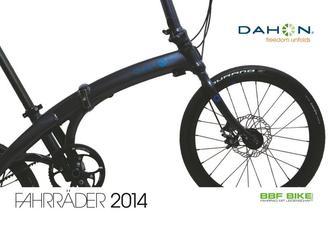Dahon Fahrrad Katalog 2014