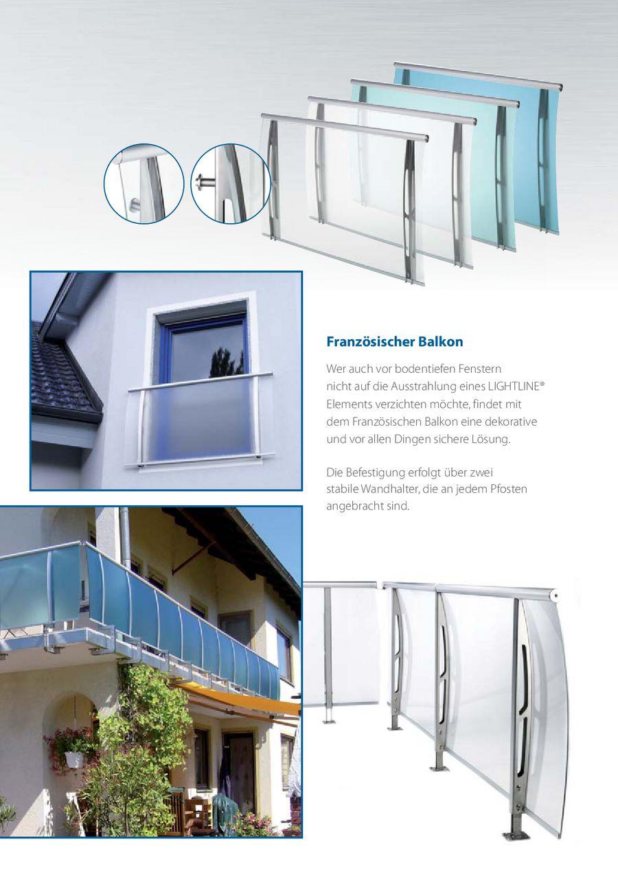 Lightline Gelander System Von Polymer Kunststoffe Gmbh