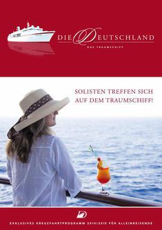 Themenkreuzfahrten Solisten 2014/2015