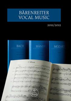 Vocal Music Catalogue 2011/2012