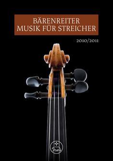 Musik für Streicher 2010/2011