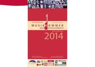 Musiksommer-Broschüre 2014