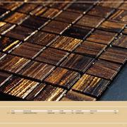 Mosaik Fliesen Gold In Princess Ceramic Mosaike Edition I Von - Mosaik fliesen braun gold