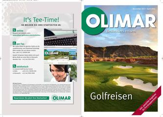 Golfreisen Nov. 2013-April 2014