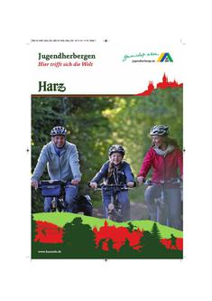 Jugendherbergen im Harz 2014