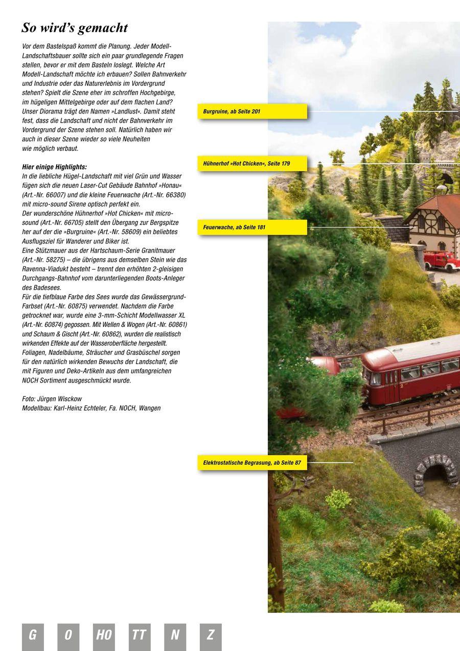 NEU Noch Katalog-2019-2020 Spur N NOCH Hauptkatalog 2019 2020