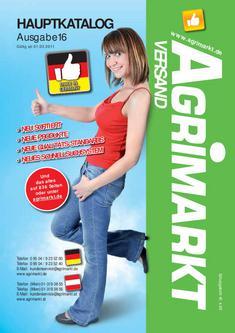 Agrimarkt Hauptkatalog 16 / 2011