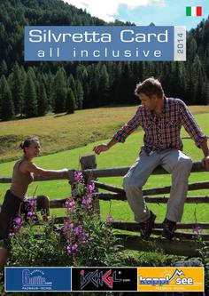 Silvretta Card all inclusive 2014 (Italienisch)