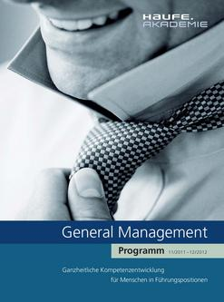 General Management Programm 2012