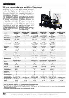 Stromerzeuger Diesel wassergekühlt Einzylinder