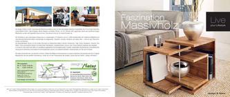Faszination Massivholz - Jahreskatalog 2013