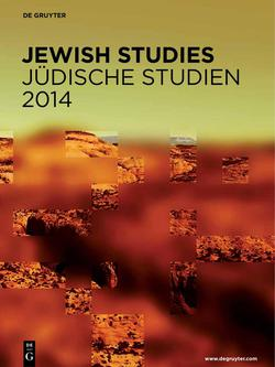 Neuerscheinungsverzeichnis Jüdische Studien 2014