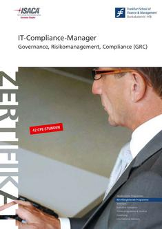 Zertifikatsstudiengang IT-Compliance-Manager 2011