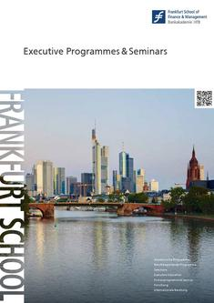 Executive Programmes & Seminars 2011