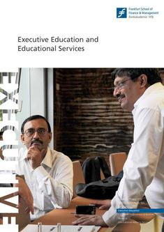 Executive Education and Educational Services 2011