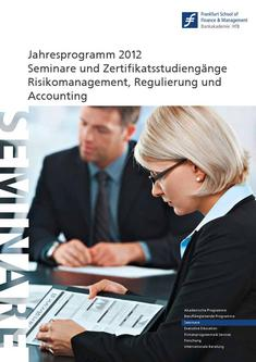 Competence Center Katalog 2012 Risikomanagement, Regulierung und Accounting