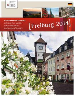 Hotel-Arrangements, Stadtführungen und unser Gastgeberverzeichnis 2014