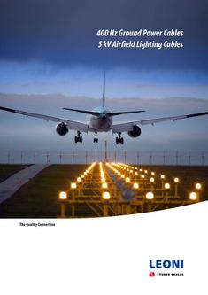 Katalog: LEONI 400 Hz ground power cables � 5 kV airfield lighting cables