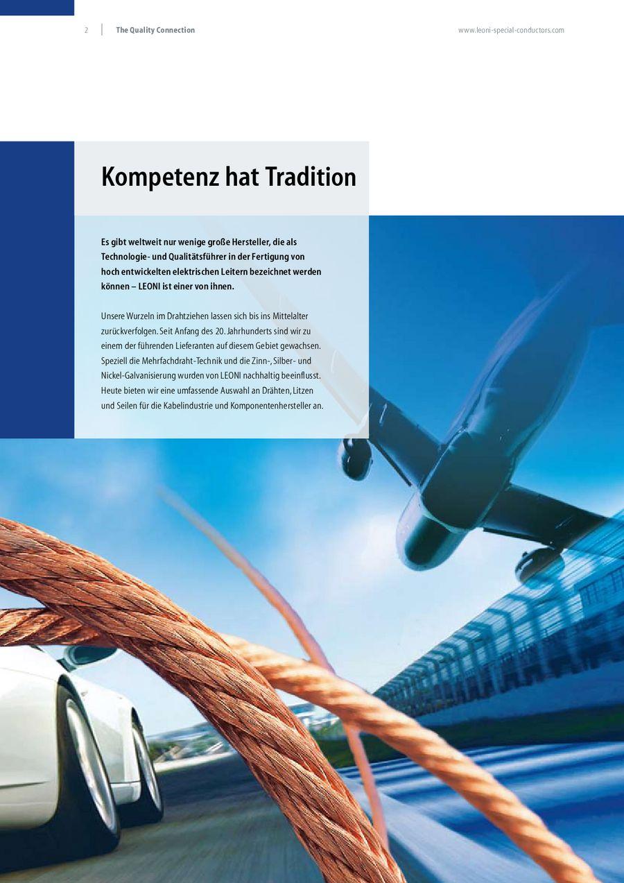 Drähte & Litzen für die Kabelindustrie von LEONI