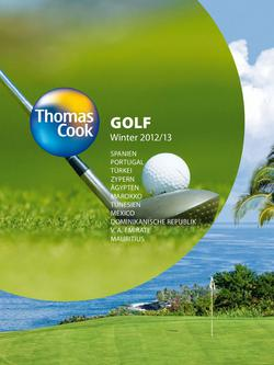 Golf Winter 2012/2013