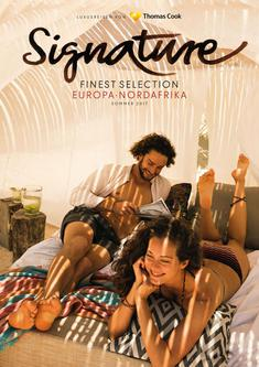 Signature Finest Selection Europa, Nordafrika 2017