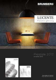 Preisliste Lucente/Poom Oktober 2012