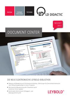 Katalog: LD Didactic Document Center 2012