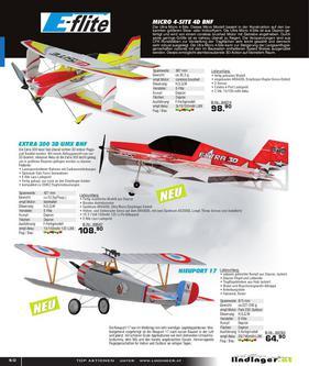 Elektroflug Slow-Parkflyer Jets 2011