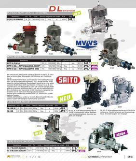Verbrennermotoren, Zubehör 2011-2012