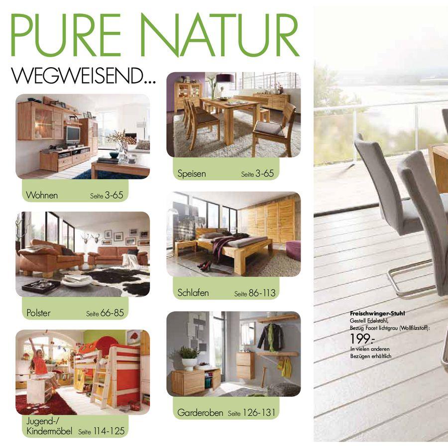 Natur Plus Massivholzmöbel 2012 Von Möbel Billi