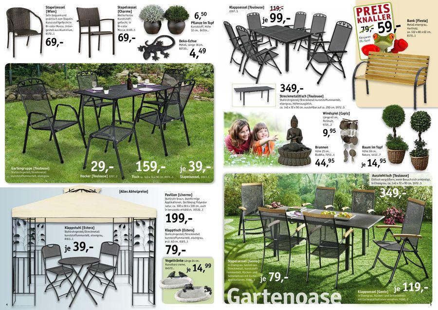 Garten Oasen 2012 von Möbel Billi