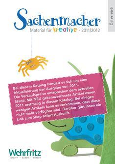 Der Katalog für kreative Sachenmacher (AT) 2012