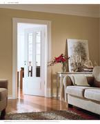 t ren mit lichtausschnitt hgm in hgm pur weiss t ren 2011 von holz wiegand. Black Bedroom Furniture Sets. Home Design Ideas