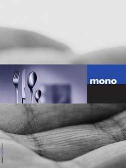 mono filio besteck in brosch re mono besteck von lothar john. Black Bedroom Furniture Sets. Home Design Ideas