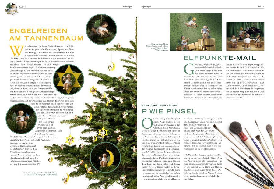 Wendt Und Kühn Tannenbaum.Elfpunktepost Herbst Winter 2011 Von Lothar John