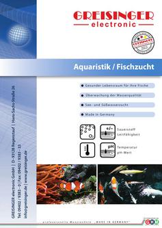 Sauerstoff messger t for Aquaristik katalog