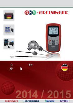 Měření | Řízení | Regulace 2014/2015 (Tschechisch)