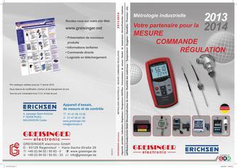 Mesure - Commande - Régulation 2013/2014 (Französisch)